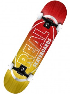 REAL komplet MTLLC OVAL FADE RED/YEL