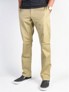 RVCA kalhoty WEEKEND STRETCH KHAKI