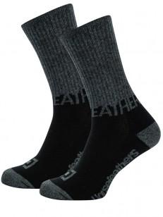 HORSEFEATHERS ponožky MASK black