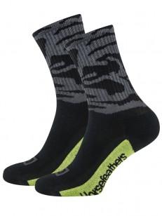 HORSEFEATHERS ponožky BLOT black