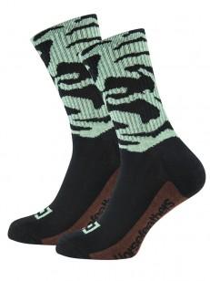 HORSEFEATHERS ponožky BLOT misty jade