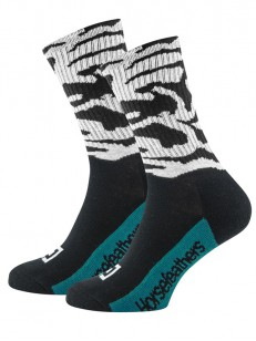 HORSEFEATHERS ponožky BLOT white