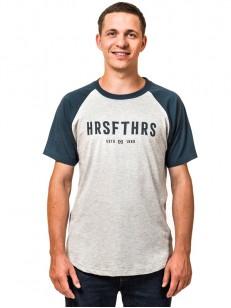 HORSEFEATHERS triko HRSFTHRS ash