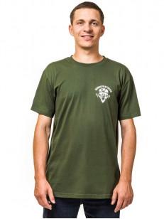 HORSEFEATHERS tričko BEAR SKULL olive