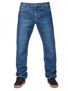 HORSEFEATHERS nohavice CLIFF JEANS dark blue