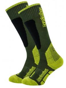 HORSEFEATHERS ponožky CALEB THERMOLITE apple green