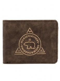 HORSEFEATHERS peněženka REECE brown