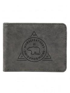HORSEFEATHERS peněženka REECE gray