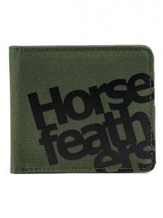 HORSEFEATHERS peňaženka ASH olive