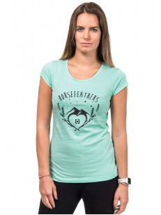 HORSEFEATHERS tričko AGNES misty jade