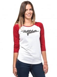 HORSEFEATHERS tričko CALLA white
