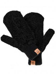 HORSEFEATHERS rukavice ZARA MITTENS black