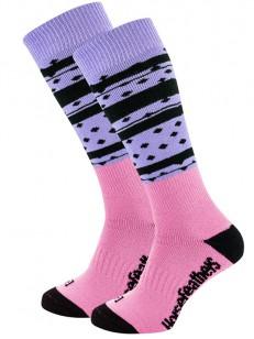 HORSEFEATHERS ponožky ASHA THERMOLITE lilac