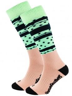 HORSEFEATHERS ponožky ASHA THERMOLITE misty jade