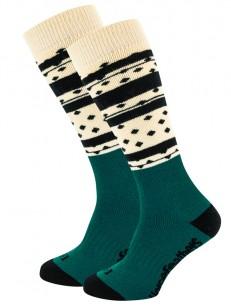 HORSEFEATHERS ponožky ASHA THERMOLITE sand