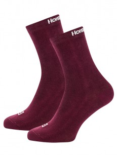 HORSEFEATHERS ponožky UNA 3 PACK sangria