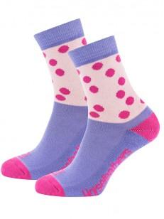 HORSEFEATHERS ponožky ZELDA fuchsia