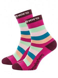 HORSEFEATHERS ponožky LINA fuchsia