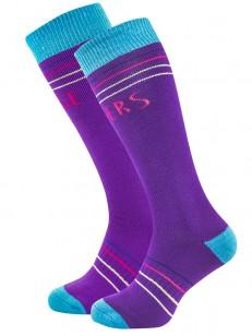 HORSEFEATHERS ponožky ARWEN purple