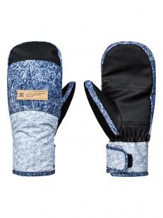 DC rukavice FRANCHISE DARK BLUE ACID WASH DENIM A