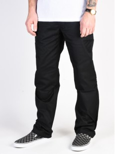 DC kalhoty WORKER RELAXED BLACK