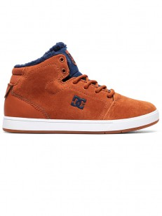 DC boty CRISIS HIGH WNT BROWN/BLUE