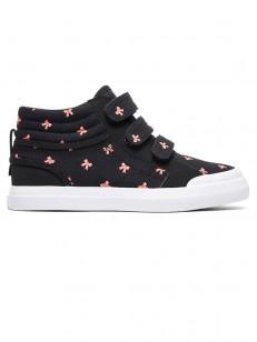 DC topánky EVAN HI V SP BLACK/PINK