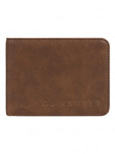 QUIKSILVER peněženka SLIM VINTAGE II COFFEE LIQUEU