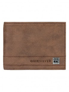 QUIKSILVER peněženka STITCHY CHOCOLATE