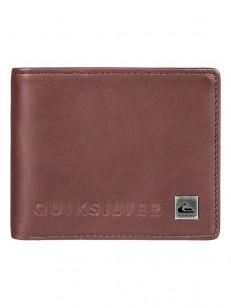 QUIKSILVER peněženka MACKVI CHOCOLATE BROWN