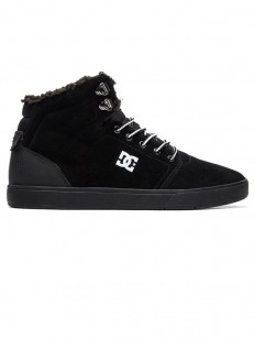 DC boty CRISIS HIGH WNT BLACK/WHITE/BLACK