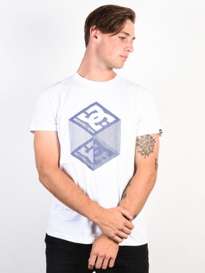 e2fe0d88eb2c DC tričko VOLUME SNOW WHITE   TempleStore.sk
