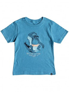 QUIKSILVER triko FREESTYLE BOY CENDRE BLUE