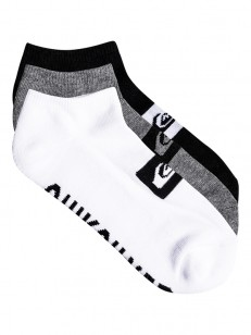 QUIKSILVER ponožky ANKLE 3PACK