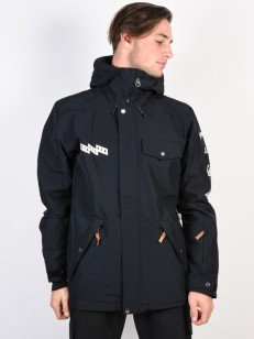 QUIKSILVER bunda IN THE HOOD BLACK