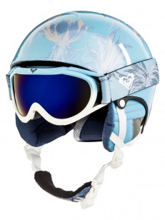 ROXY helma MISTY GIRL PACK GOGGLE POWDER BLUE SWEL