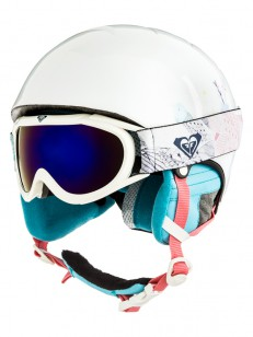 ROXY helma MISTY GIRL PACK GOGGLE BRIGHT WHITE ANI