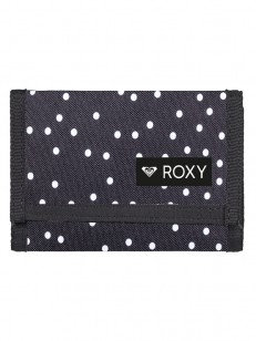 ROXY peněženka BEACH GLASS 2 TRUE BLACK DOTS FOR D