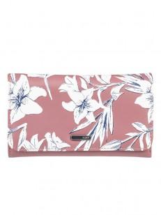 ROXY peňaženka MY LONG EYES WITHERED ROSE LILY HOU