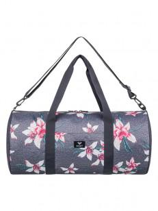 ROXY taška KIND OF WAY CHARCOAL HEATHER FLOWER FIE