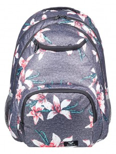 ROXY batoh SHADOW SWELL CHARCOAL HEATHER FLOWER FI