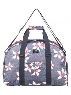 ROXY taška FEEL HAPPY CHARCOAL HEATHER FLOWER FIEL