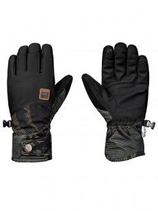 ROXY rukavice VERMONT FOUR LEAF CLOVER SWELL FLOWE