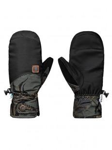 ROXY rukavice VERMONT MITT FOUR LEAF CLOVER SWELL