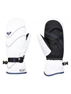ROXY rukavice JETTY SOLID MITT BRIGHT WHITE