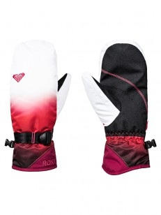 ROXY rukavice JETTY SE MITT TEA BERRY WAVE GRADIEN