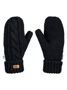 ROXY rukavice WINTER MITTENS TRUE BLACK