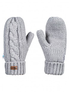 ROXY rukavice WINTER MITTENS WARM HEATHER GREY
