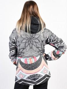 a3b05e03e14 ROXY bunda FROZEN FLOW TRUE BLACK POP SNOW STARS   TempleStore.cz