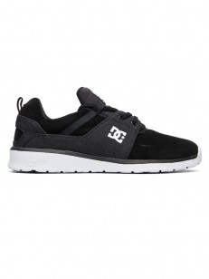 DC boty HEATHROW SE BLACK/BATTLESHIP/WHITE